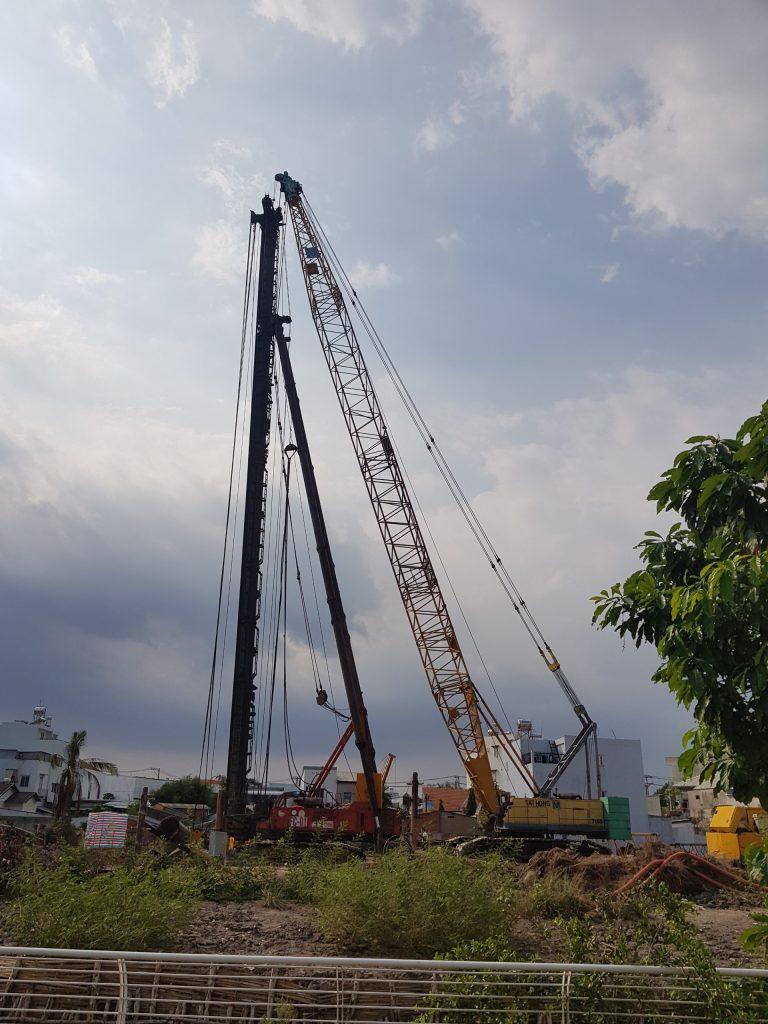 iến độ Xây dựng dự án Prosper Phố Đông